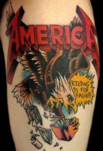America Tattoo Metallica
