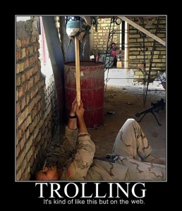 Definition of Trolling