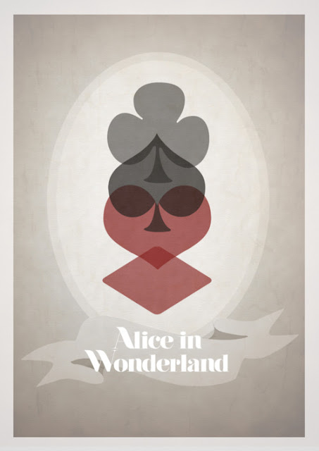 Alice in Wonderland Minimalist