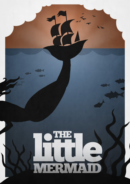 The Little Mermaid Minimalist