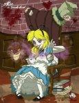 Evil Alice in Wonderland