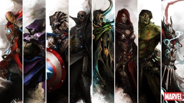 Medieval Marvel Avengers